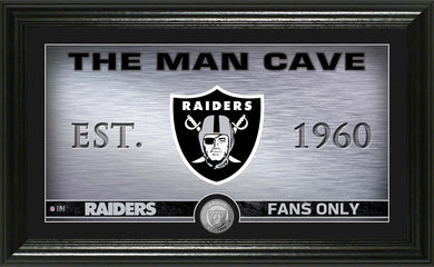 oakland raiders man cave