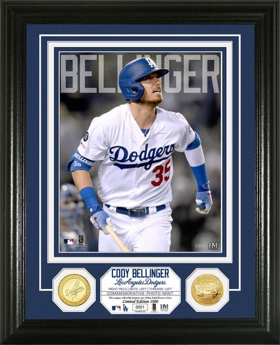 Cody Bellinger Los Angeles Dodgers Bronze Coin Photo Mint