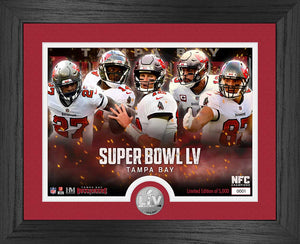 Tampa Bay Buccaneers Super Bowl 55 Team Force Silver Coin Photo Mint