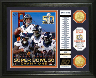 Denver Broncos Super Bowl 50 Champions