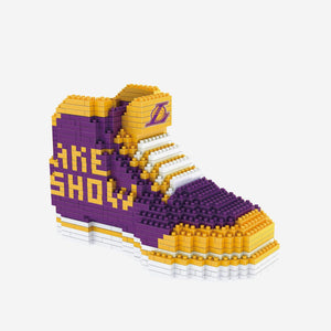 Los Angeles Lakers BRXLZ 3D Sneaker Puzzle