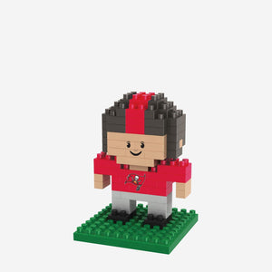 Tampa Bay Buccaneers BRXLZ 3D Mini Player