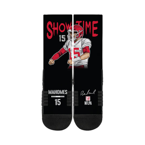 Patrick Mahomes Kansas City Chiefs Action Crew Socks