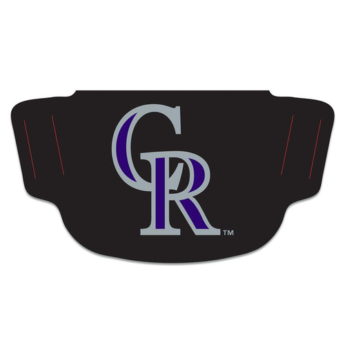 Colorado Rockies Fan Mask Adult Face Covering #2