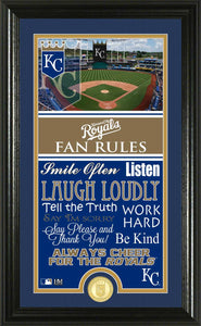 Kansas City Royals Fan Rules Supreme Bronze Coin Photo Mint