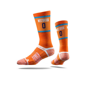 russell westbrook okc thunder socks, russell westbrook oklahoma city thunder socks