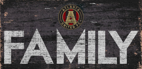 Atlanta United Family Wood Sign