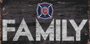 Chicago Fire Family Wood Sign