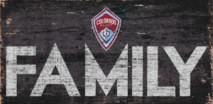 Colorado Rapids Family Wood Sign