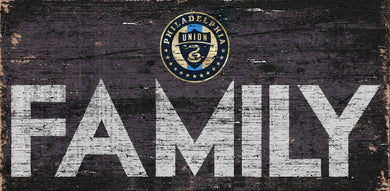 Philadelphia Union Family Wood Sign