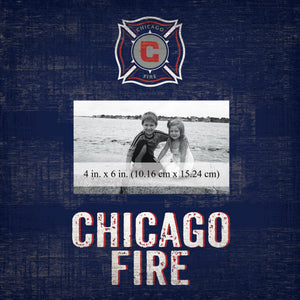 Chicago Fire Team Name Picture Frame