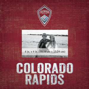 Colorado Rapids Team Name Picture Frame