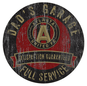 Atlanta United Dad's Garage Sign
