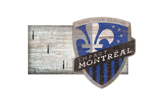 "Montreal Impact Key Holder 6""x12"""