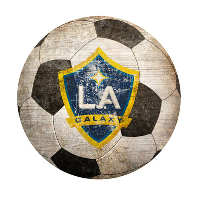 LA Galaxy Soccer Ball Shaped Sign