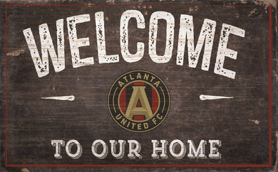 Atlanta United Welcome To Our Home Sign - 11