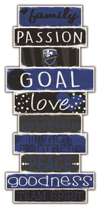 Montreal Impact Celebrations Stack Wood Sign -24""