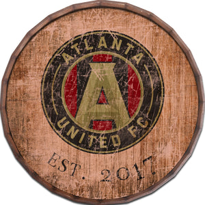 Atlanta United Established Date Barrel Top - 24""