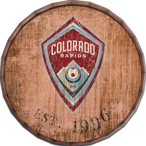 Colorado Rapids Established Date Barrel Top - 24""