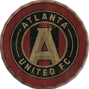 Atlanta United Cracked Color Barrel Top - 24""