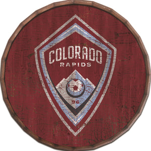 Colorado Rapids Cracked Color Barrel Top - 16""