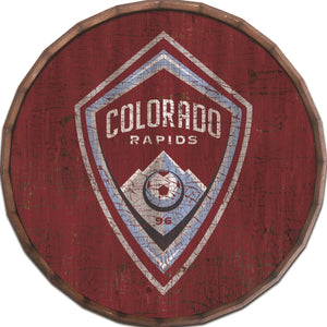 Colorado Rapids Cracked Color Barrel Top - 24""