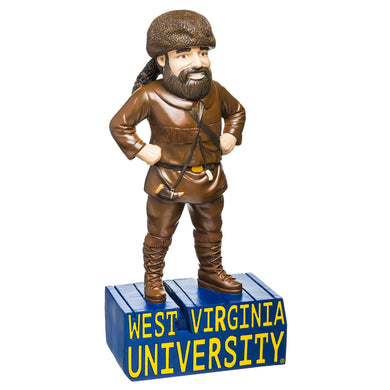 West Virginia Mountaineers Mascot Statue