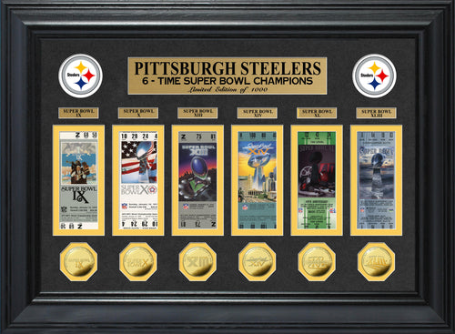 pittsburgh steelers 6 time super bowl champions