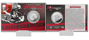 Tampa Bay Buccaneers 2020 Team History Silver Coin Card