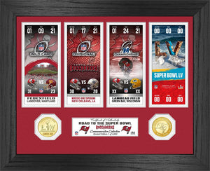 Tampa Bay Buccaneers Road to Super Bowl 55 Bronze Coin Photo Mint