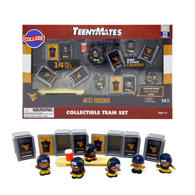 West Virginia Mountaineers TeenyMates Action Figurine Set