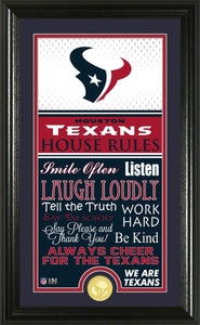 Houston Texans House Rules
