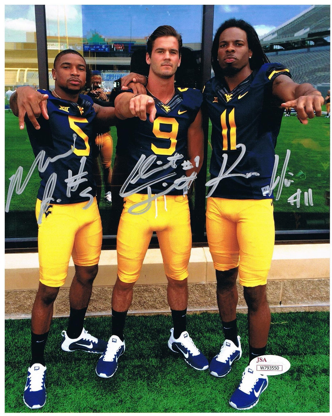 wvu football, kevin white, mario alford, clint trickett