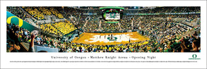 Oregon Ducks Basketball Matthew Knight Arena Opening Night Panoramic Picture