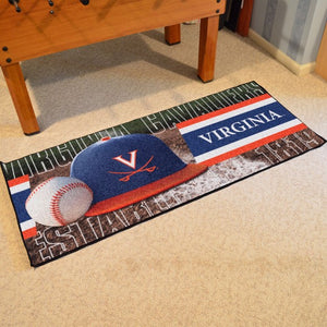 Virginia Cavaliers Baseball Runner