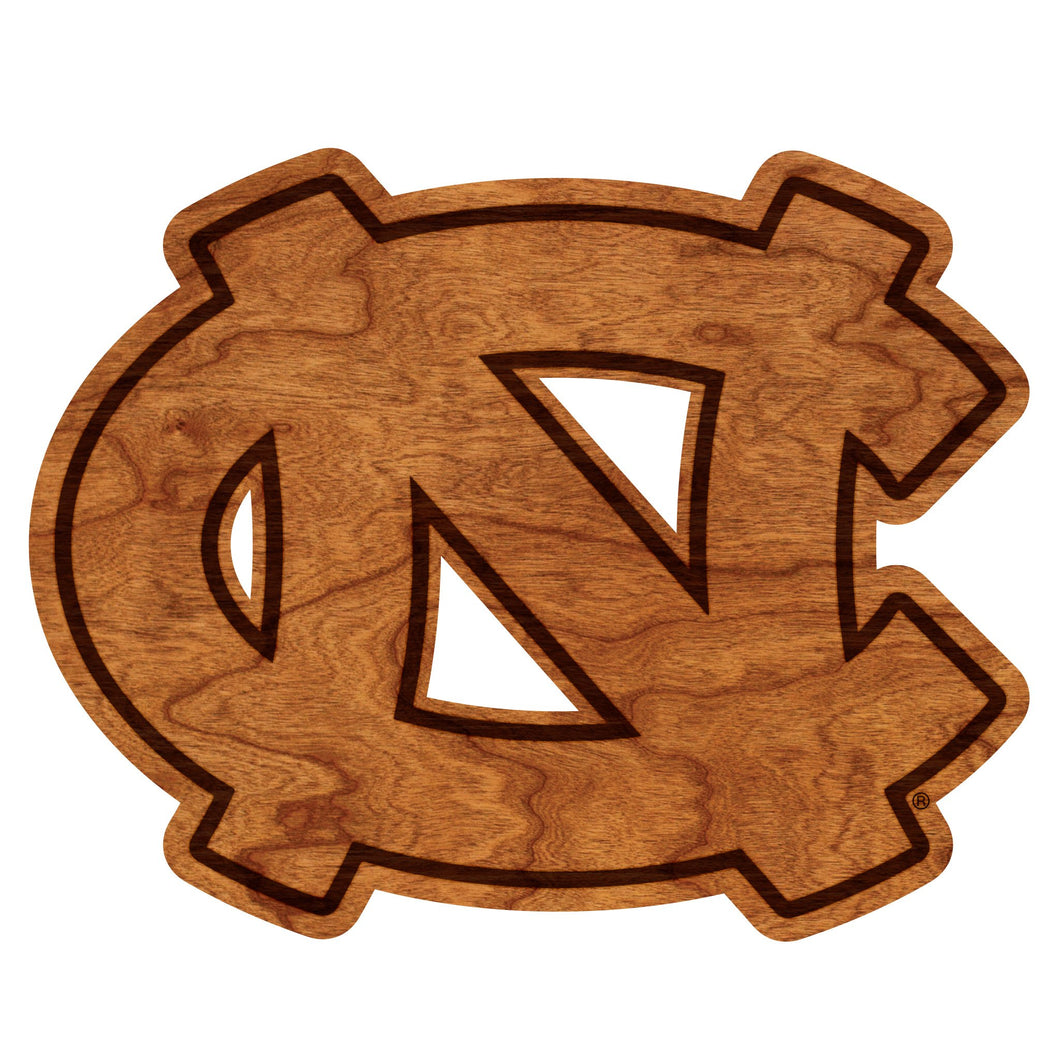 North Carolina Tar Heels Wood Wall Hanging UNC - Standard Size