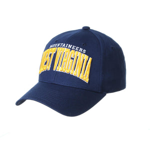 West Virginia Mountaineers Broadway Adjustable Hat