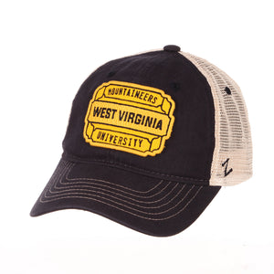 West Virginia Mountaineers Detour Trucker Hat