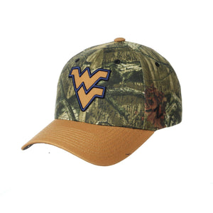 West Virginia Mountaineers Fayetteville Camo Trucker Hat