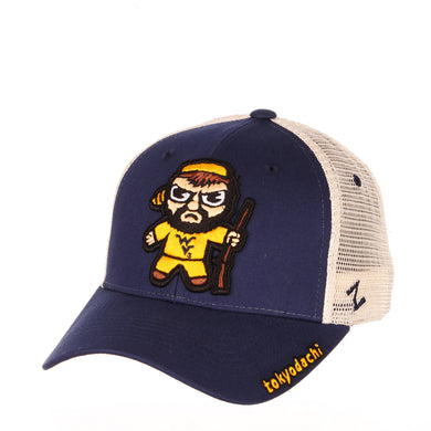 West Virginia Mountaineers Inaka Mountaineer Emoji Hat, wvu trucker hat