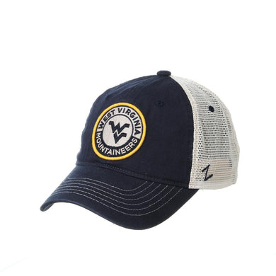 West Virginia Mountaineers Lancaster Meshback Adjustable Hat