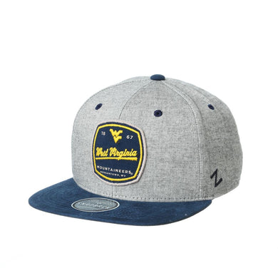 West Virginia Mountaineers Montpelier Flat Bill Hat