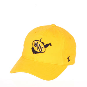 West Virginia Mountaineers Novel Adjustable Hat