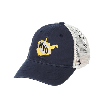 West Virginia Mountaineers Revert Curved Bill Snapback Hat
