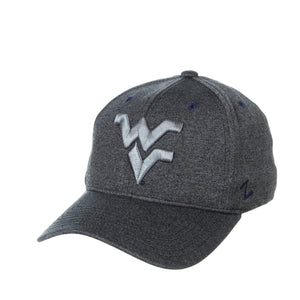 West Virginia Mountaineers Somber Fitted Hat