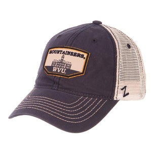 West Virginia Mountaineers Trademark Woodburn Hall Trucker Hat