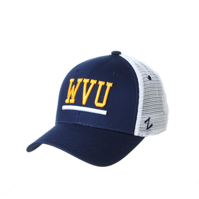 West Virginia Mountaineers Upfront Meshback Adjustable Hat