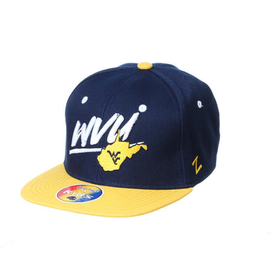 West Virginia Mountaineers Yonkers Youth Flatbill Snapback Hat