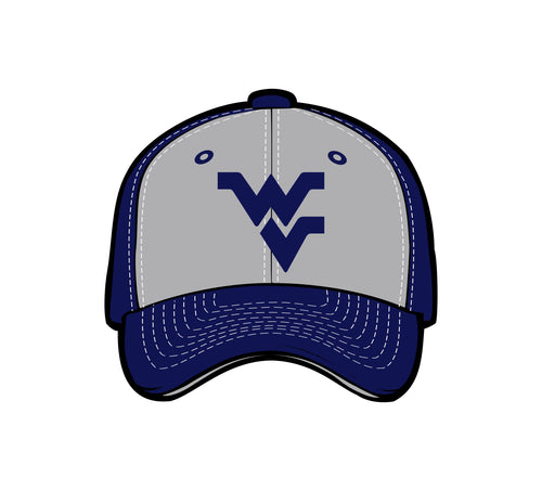 West Virginia Mountaineers Sediment Fitted Hat