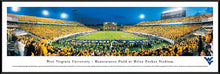 West Virginia Mountaineers Milan Puskar Stadium Panoramic Picture End Zone